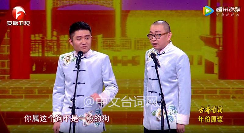 苗阜王声《鸡年说鸡》相声台词完整版—2017安徽春晚
