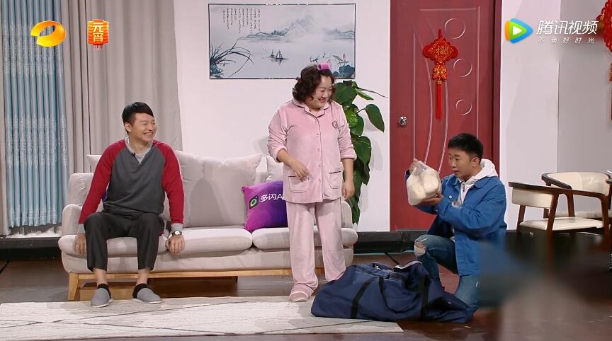 杨迪吴彼牟紫小品《我的傲娇父亲》台词剧本——2019湖南元宵晚会