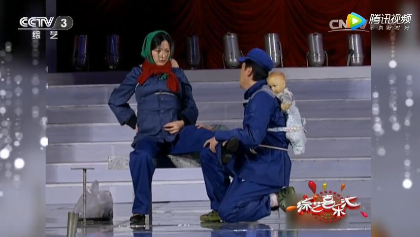 董卿蔡国庆小品《新超生游击队》台词剧本
